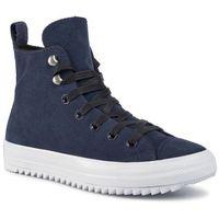 Sneakersy CONVERSE - Ctas Hiker Hi 565237C Obsidian/White/Black, kolor niebieski