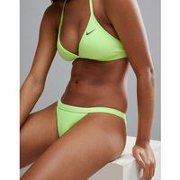 Nike Swim Ribbed Bikini Bottom - Yellow