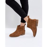 Hudson London Odina Tan Suede Ankle Boots - Tan, ankle
