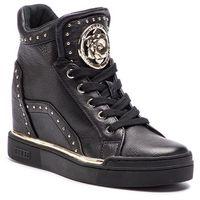 Guess Sneakersy - fl5fr2 lea12 black
