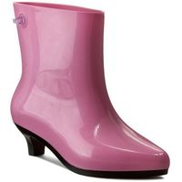 Kalosze - ankle boot + jeremy sc 31916 pink/black 52208 marki Melissa