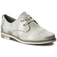 Oxfordy MARCO TOZZI - 2-23205-30 Lt.Grey Metal. 237, kolor szary