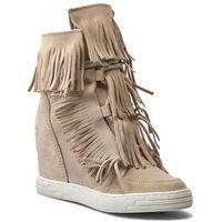 Sneakersy R.POLAŃSKI - 0818 Beżowy, kolor beżowy