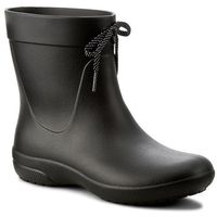 Kalosze CROCS - Freesail Shorty Rainboot 203851 Black, kolor czarny