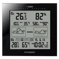 Stacja meteo ws 2244 b czarna marki Hyundai