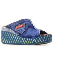 Klapki 42c266 jeans marki Lanqier