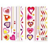 Naklejka Hearts on Strings 74307