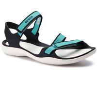 Sandały CROCS - Swiftwater Webbing Sandal W 204804 Pool/White, w 2 rozmiarach