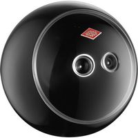 Wesco - Pojemnik kuchenny SpacyBall - czarny - czarny, kolor czarny