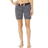 Strój kąpielowy - chargin boardshort black/white (018) rozmiar: 4 marki Fox