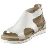 Sandały 67995 - platynowe przecierane marki Fabio fabrizi