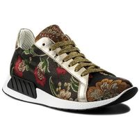 Sneakersy HEGO'S MILANO - 1006 Fiori Lam.Rosso, w 2 rozmiarach