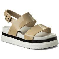 Sandały MELISSA - Cosmic Sandal II Ad 32360 White/Black 53216, kolor beżowy
