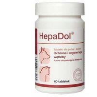 hepadol tabletki dla psów i kotów - ochrona i regeneracja wątroby, 60 tabl. marki Dolfos