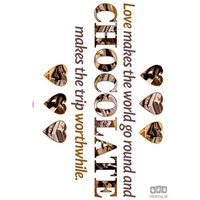 Naklejka chocolate 17048 marki Komar