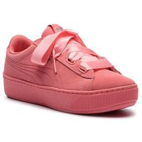 Sneakersy PUMA - Vikky Platform Ribbon S 366418 03 Shell Pink/Shell Pink, kolor różowy