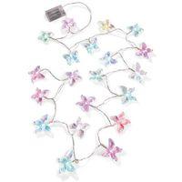 """Łańcuch z lampkami LED """"Motyle"""" bonprix przezroczysty"""