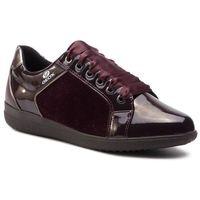 Geox Sneakersy - d nihal c d827lc ofphi c7357 dk burgundy