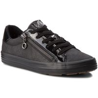 Sneakersy - 5-23615-21 black antic 002, S.oliver