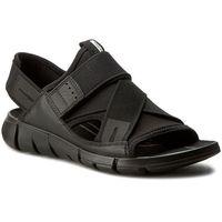 Sandały ECCO - Intrinsic Sandal 84200351052 Black/Black, kolor szary
