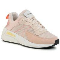 Sneakersy DIESEL - S-Serendipity Low W Y02160 P3163 H7998 Sand Dollar/Cream, kolor różowy