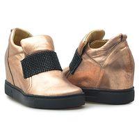 Kiera Sneakersy 648/s-23 crc miedziane lico