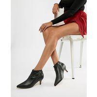 kitten heel ankle boots - black marki Truffle collection