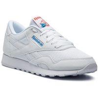 Buty - cl nylon txt cn6684 white/blue/neon red marki Reebok