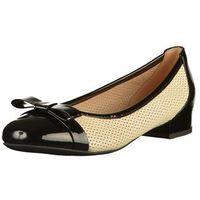 baleriny damskie wistrey 36 czarny marki Geox