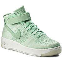 Nike Buty - w nike af1 flyknit 818018 301 enamel green/enamel green