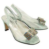 Brenda zaro t1971 616 cielo, sandały damskie - niebieski