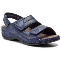 Sandały BERKEMANN - Sofie 01020 Blau/Wab/Shiny 319