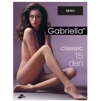 Gabriella Rajstopy classic 15 den, rozmiar 5, kolor nero