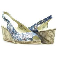 Sandały Caprice 9-28350-28 Granatowe lico, kolor niebieski