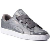 Sneakersy - basket heart patent wn's 363073 17 iron gate/iron gate, Puma, 35.5-41