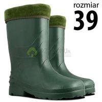 Kalosze EVA damskie zielone rozm.39, kolor zielony
