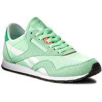 Buty Reebok - Cl Nylon Slim Hv BD1781 Mint/Bottle Green/Wht/Pnk