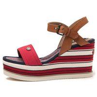 Wrangler sandały damskie Jeena Sunshine Strap 38 czerwony, kolor czerwony