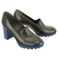 Marco shoes 0125p-001-024-1 czarny, półbuty damskie