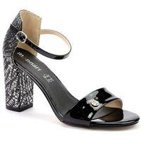 Sandały but0590 srebrny, Monnari, 36-40