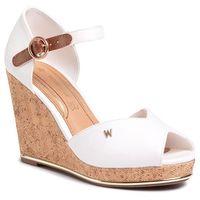Sandały - pana reval wl01531a white 051 marki Wrangler