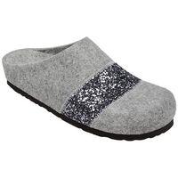Kapcie Pantofle domowe Ciapy Dr Brinkmann 320501-9 Popielate - Popielaty ||Szary (4053519836758)