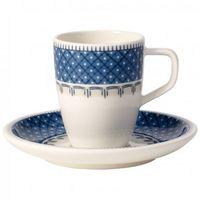 - casale blu filiżanka do espresso ze spodkiem pojemność: 0,10 l marki Villeroy & boch