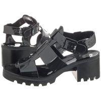 Sandały JuJu Czarne Kyra Black (JU7-b), JU7-b