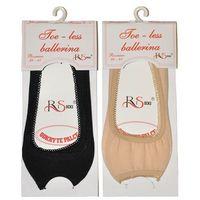 Baletki toe-less art.5692211 36-41, czarny/nero, risocks marki Risocks
