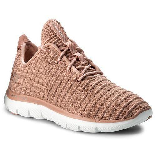 Sneakersy SKECHERS - Estates 12899/ROS Rose, kolor różowy