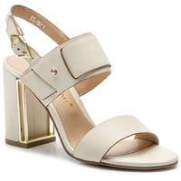 Sandały BRUNO PREMI - Vitello BW2401P Avorio, kolor beżowy