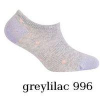 Stopki be active w81.0s1 damskie wzór rozmiar: 39-41, kolor: fioletowy/milka, wola, Wola