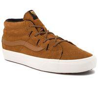 Vans Sneakersy - sk8-mid reissue g vn0a3tkqucs (mte) sudan brown/marshma