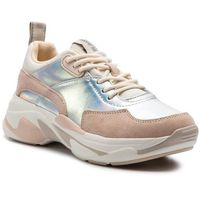 Pepe jeans Sneakersy - sinyu reflect pls30872 silver 934